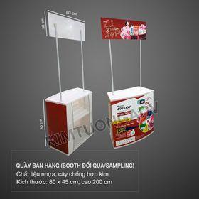 Quầy bán hàng (booth bán hàng - Booth sampling giá sỉ