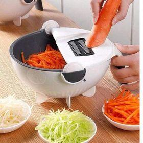 Rổ Thái Rửa Rau Củ Quả 9 Trong 1 - Thay thế mọi dụng cụ trong nhà bếp giá sỉ