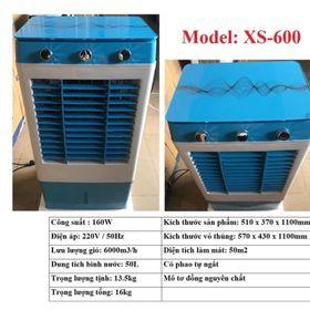 QUẠT HƠI NƯỚC 50L Model XS-600 MÔ TƠ 100% ĐỒNG NGUYÊN CHẤT giá sỉ