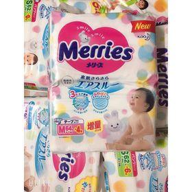 Tã quần, tã dán Merries [Cộng Miếng], hàng nội địa Nhật, date mới, đủ size giá sỉ