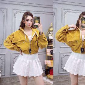 Áo khoác Nhung lửng hàng quảng châu bao chất giá sỉ