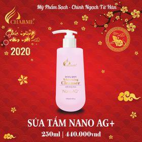 Sửa tắm charm nano AG+ giá sỉ