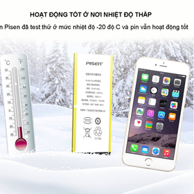 Pin điện thoại IPhone 8+ Pisen - tgiufdiui84 giá sỉ