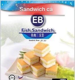 Sandwich cá 500g giá sỉ