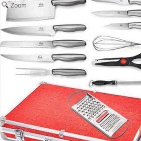 Bộ dao kéo vali 13 món giá sỉ