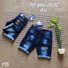 quần short jean lửng giá sỉ