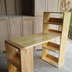 bàn làm việc bằng gỗ đa năng giá sỉ
