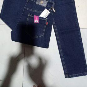 Quần Jeans Nam Xanh Đen