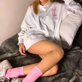 Áo hoodie nữ nỉ ngoại SWE Love You giá sỉ