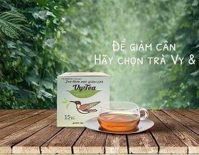 Trà Vy Tea Giảm Cân Thảo Mộc giá sỉ