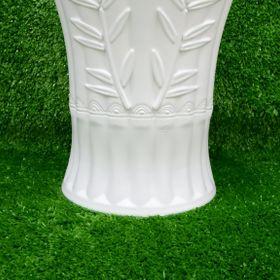 Chậu Cây Hoa Văn Hình Trúc Giả Sứ (25x18x19cm) - Trồng Cây Kiểng/Cây Ăn Trái giá sỉ