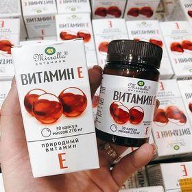 Vitamin E Zentiva đỏ của Nga giá sỉ