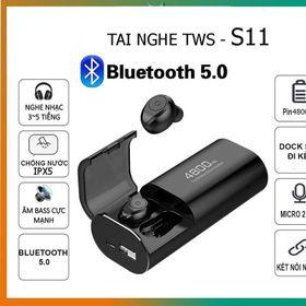 Tai nghe Bluetooth S11 chống nước pin dự phòng 4800mah giá sỉ
