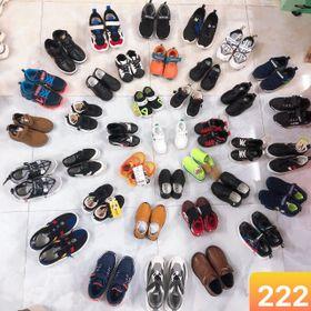 Lô giày 64 trẻ em 222 giá sỉ