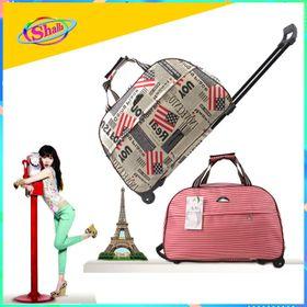 Túi du lịch cần kéo Melody nam nữ du lịch cao cấp cỡ đại size 24inch Sang trọng Shalla giá sỉ