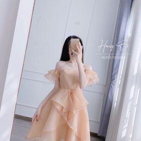 Đầm thiết kế voan công chúa size S M giá sỉ