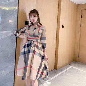 Váy kẻ bbr hàng quảng châu M L giá sỉ