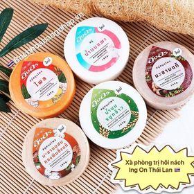 Xà Phòng Trị Hôi Nách Herbal Soap Ing-On 160gr Thái Lan giá sỉ