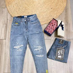 Quần jeans rách dáng baggy giá sỉ