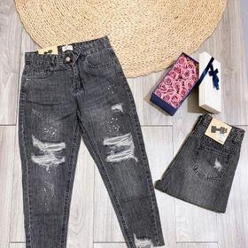 Quần jeans khói rách mã 841 giá sỉ