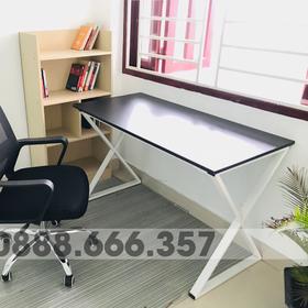 Bàn làm việc - bàn học - bàn văn phòng - Chân X giá sỉ