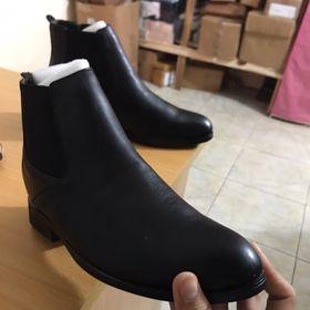 Giày chelsea boot nam tăng chiều cao 5cm giá sỉ