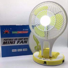 Quạt Sạc Tích Điện Mini Fan JR 5580 giá sỉ, giá bán buôn giá sỉ