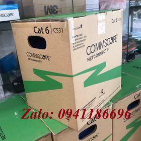 Cáp mạng CommScope CAT6 UTP mã 1427254-6, sẵn số lượng giá sỉ