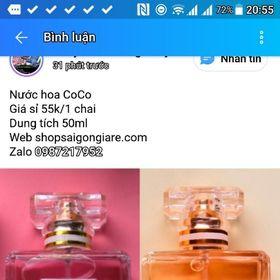 Nmẫu mước hoa y hình mùi siêu mẫu mới 50ml giá sỉ