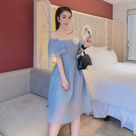 Váy xòe chất tơ xước giá sỉ