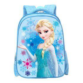 Balo cho trẻ em đi học chống gù in hình 3D Biệt đội anh hùng và công chúa Shalla giá sỉ