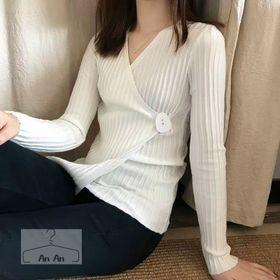 Áo len kiểu vạt lệch giá sỉ