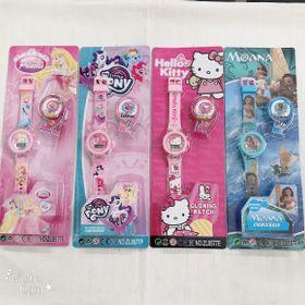 Đồng hồ điện tử trẻ em 7 màu giá sỉ