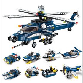 Bộ đồ chơi lắp ráp kiểu lego Qman 1801 giá sỉ