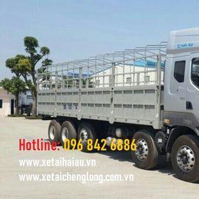 Xe tải thùng mui bạt chenglong 5 chân 5 giò 10x4, 21 22 tấn, thùng dài 9m5, giá xe chenglong 5 chân, LZ1340 SX 2020 giá sỉ