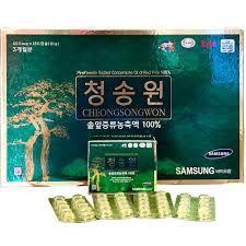 Tinh Dầu Thông Đỏ Cheongsongwon 180 Viên Hộp Xanh giá sỉ