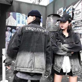 Áo khoác jean unisex form rộng Dsquared giá sỉ