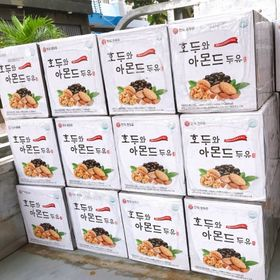 Sữa óc chó đậu đen hạnh nhân Hàn Quốc giá sỉ