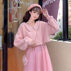 Sét đầm len công chúa giá sỉ