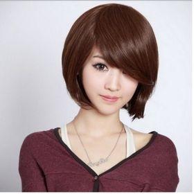 tóc giả nữ T1 ( nâu hạt dẽ )