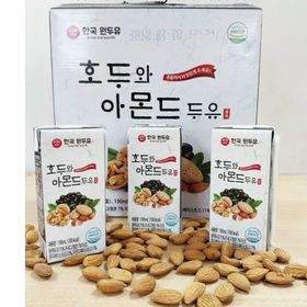 Sữa óc chó đậu đen hạnh nhân Hàn Quốc mẫu mới giá sỉ