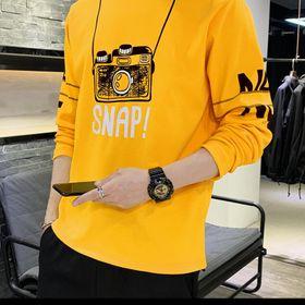 Áo thun nam tay dài in máy chụp hình giá sỉ