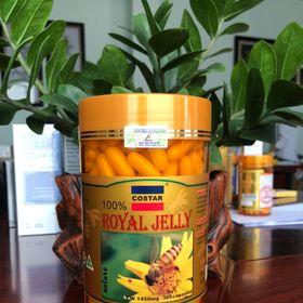 Sữa Ong Chúa Costar Royal Jelly Soft Gel Capsules 1450mg (365 viên) giá sỉ