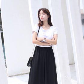 QUẦN ĐEN ỐNG SUÔNG LƯNG THUN - DT1392 - quần culottes XƯỞNG MAY ĐÔ THÀNH giá sỉ