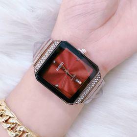 Đồng hồ đôi mặt vuông giả đá RA.DO giá sỉ