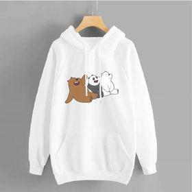 Áo hoodie nỉ bông 3 chú gấu