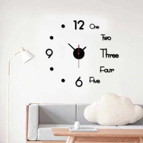 Đồng hồ dán tường cao cấp loại không hộp (set) giá sỉ