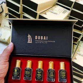 Sỉ set 5 tinh dầu Dubai giá sỉ