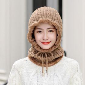 Mũ len trùm cổ lót nỉ bông siêu ấm giá sỉ