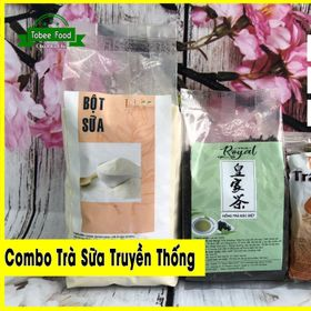 COMBO TRÀ SỮA TRUYỀN THỐNG - Bộ 3 Hoàn hảo (Hồng trà - Bột sữa - Trân châu ) Giá cực SỐC giá sỉ